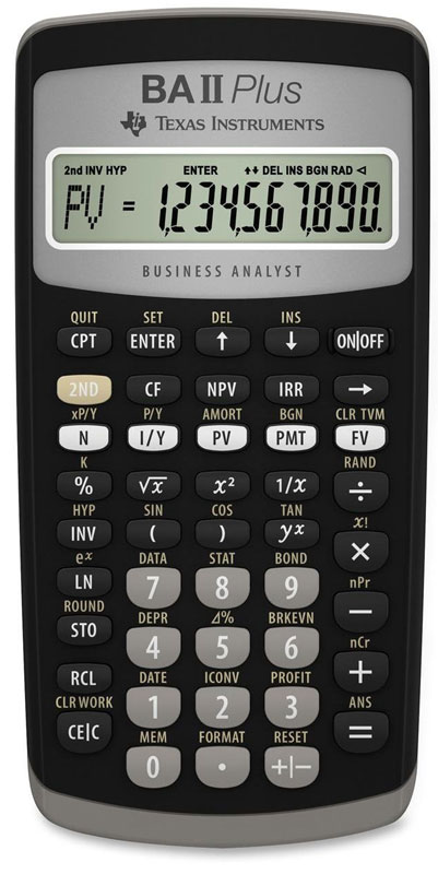 calculadora-financeira-texas-instruments-ba-ii-plus